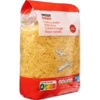 Fideo Cabellín EROSKI basic, paquete 1 kg