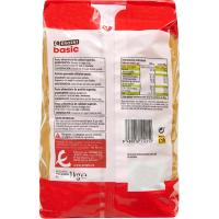 Macarrones EROSKI basic, paquete 1 kg
