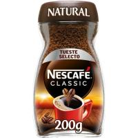 Café soluble natural NESCAFÉ, frasco 200 g