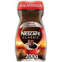 Café soluble descafeinado NESCAFÉ, frasco 200 g