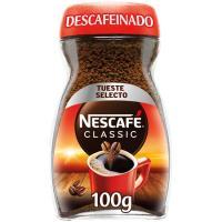 Café soluble descafeinado NESCAFÉ, frasco 100 g