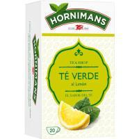 Té verde limón HORNIMANS, caja 20 sobres