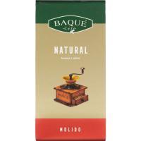 Café molido natural BAQUÉ, paquete 250 g