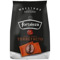 Café en grano torrefacto FORTALEZA, paquete 250 g