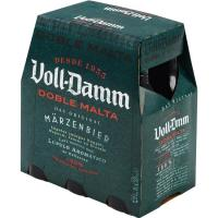 Cerveza extra VOLL-DAMM, pack 6x25 cl