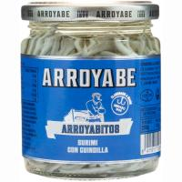 Arroyabitos de gulas con guindilla ARROYABE, frasco 110 g