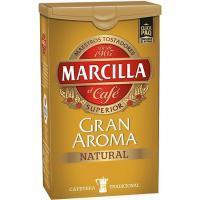 Café molido natural MARCILLA, click pack 250 g