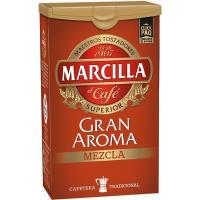 Café molido mezcla 50/50 MARCILLA, click pack 250 g