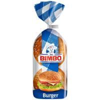 Pan de hamburguesa BIMBO, 4 unid., paquete 220 g