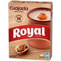 Cuajada ROYAL, caja 16 raciones 48 g