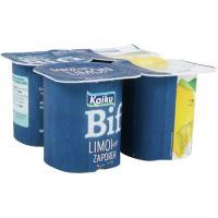 Yogur Bifi Activium de limón KAIKU, pack 4x125 g