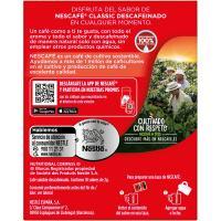 Café soluble descafeinado NESCAFÉ, caja 10 sobres