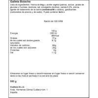 Galleta Napolitana CUÉTARA, caja 500 g
