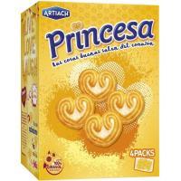 Galleta Princesa ARTIACH, caja 120 g