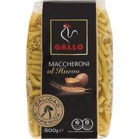Maccheroni al huevo GALLO, paquete 500 g