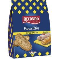 Panecillo tostado integral RECONDO, paquete 225 g