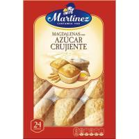 Magdalena cuadrada MARTÍNEZ, caja 700 g