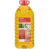 Aceite de oliva suave EROSKI, garrafa 5 litros