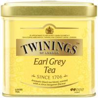 Té Earl Grey TWININGS, lata 100 g