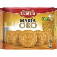 Galleta María Oro CUÉTARA, pack 4x200 g