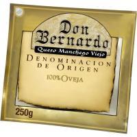 Queso D.O. Manchego DON BERNARDO, cuña 250 g