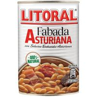 Fabada asturiana LITORAL, lata 435 g