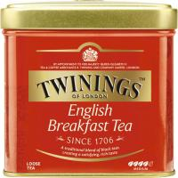 Té English Breeakfast TWNINGS, lata 100 g