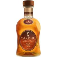 Whisky 12 años CARDHU, botella 70 cl