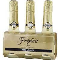 Cava Semi-seco FREIXENET Mini Nevada, pack 3x20 cl