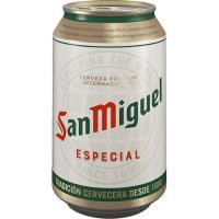 Cerveza SAN MIGUEL, lata 33 cl