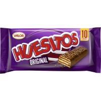Barrita de chocolate original HUESITOS, pack 10x20 g
