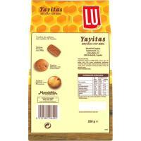 Galleta con miel LU Yayitas, bolsa 250 g