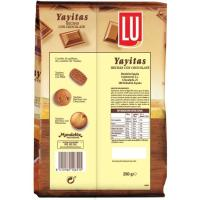 Galleta con chocolate YAYITAS, paquete 250 g