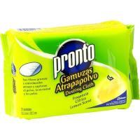 Gamuza atrapapolvo limón PRONTO, pack 20 unid.