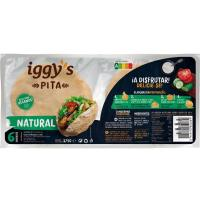 Pan pita IGGY'S, paquete 300 g