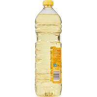 Aceite de girasol EROSKI, botella 1 litro
