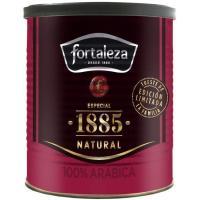 Café molido natural FORTALEZA, lata 250 g