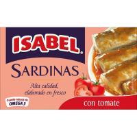 Sardina en tomate 3/4 piezas ISABEL, lata 115 g