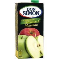Zumo de manzana DON SIMON, brik 1 litro