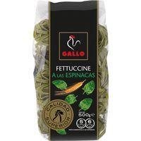 Fettuccine de espinaca GALLO, paquete 500 g