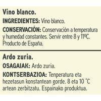 Vino Blanco EROSKI basic, brik 1 litro