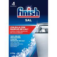 Sal lavavajillas máquina FINISH, caja 4 kg