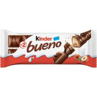 Barrita de chocolate KINDER Bueno, 1 unid., 43 g