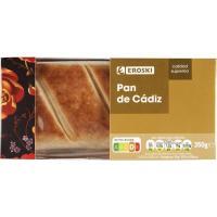 Pan de Cádiz EROSKI, caja 350 g