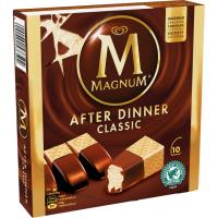 Helado After Dinner MAGNUM, 10 uds, caja 290 g