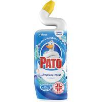 Limpiador wc líquido activo azul PATO, botella 750 ml