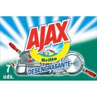 Estropajo jabonoso AJAX, caja 7 unid.