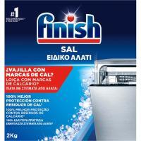 Sal lavavajillas máquina FINISH, caja 2 kg