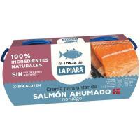 Paté de salmón LA PIARA, pack 2x77 g