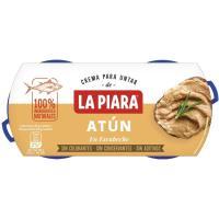 Paté de atún en escabeche LA PIARA, pack 2x75 g